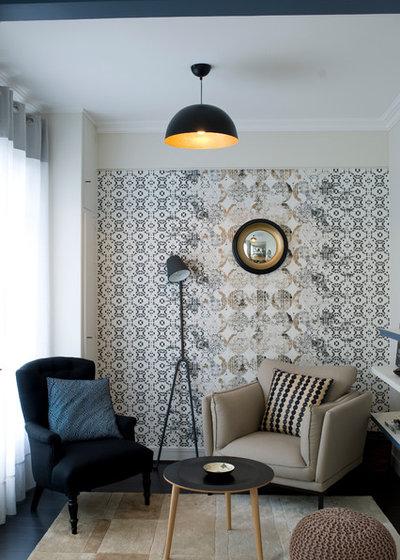 Contemporain Salon by Delphine Guyart Design