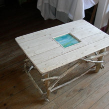 Table basse bord de mer - Table basse style bord de mer ...
