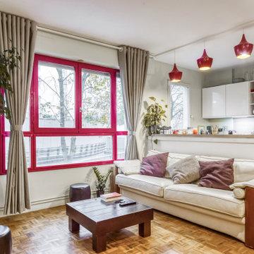 décoration d'appartement parisien