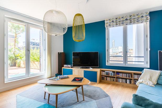 Rétro Salon by Expression Architecte Intérieur
