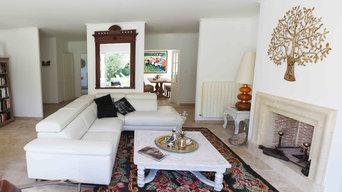 Décoration totale maison 200 m2 sans achat de meubles
