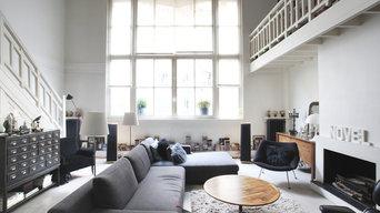 Duplex industriel de charme Paris 18