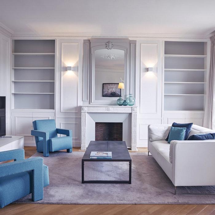Réaménagement complet d'un duplex lumineux de 100 m2 à Neuilly