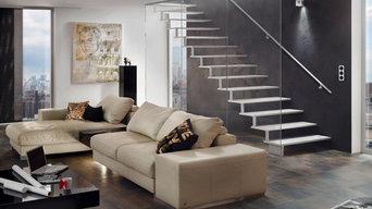 Escalier design métal AREO
