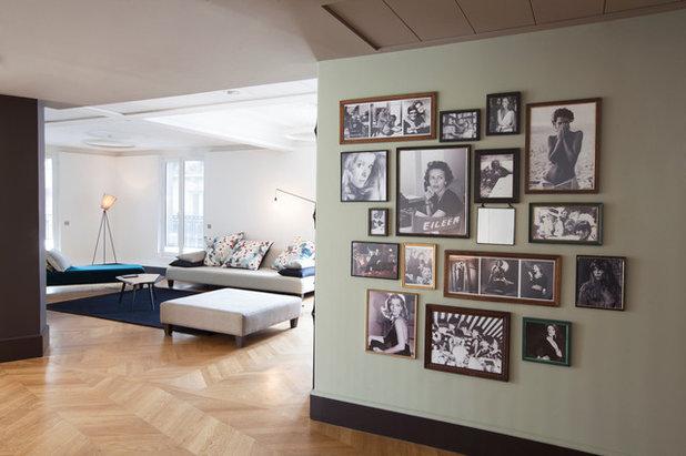 Contemporain Salon by julie gaillard design