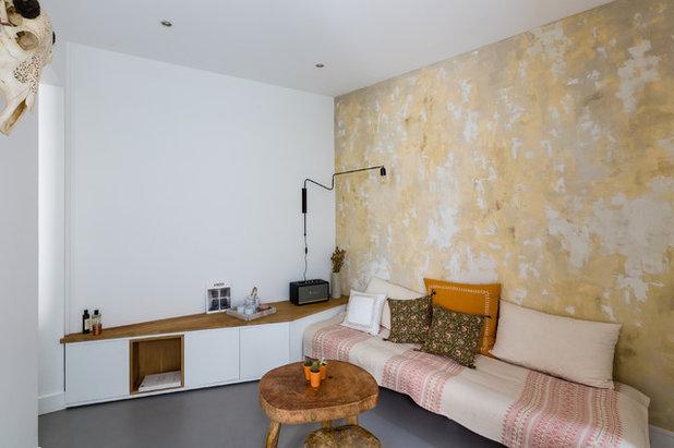 Skandinavisch Wohnbereich by Mon Plan d'Appart