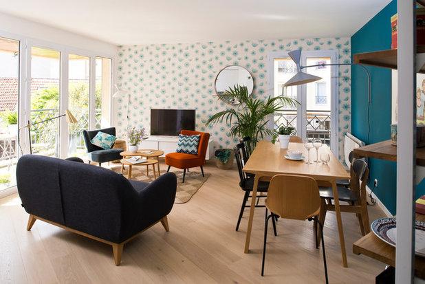 Contemporain Salon by Atelier Olivier Bourdon