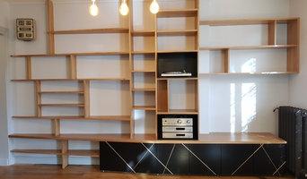 Grand meuble bibliothèque