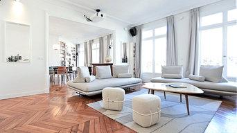 Haussmannien de 185 m² à République