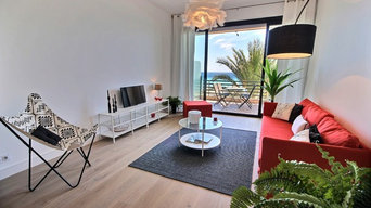 HOME STAGING D'UN APPARTEMENT SUR LA PROMENADE - NICE