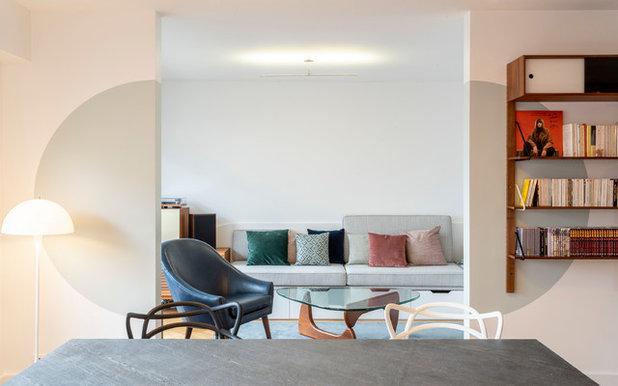 Contemporain Salon by Raphaëlle Soleil