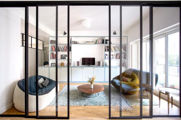 Contemporain Salon by SHK Architecture & Intérieurs
