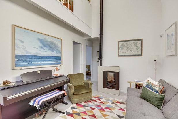 Contemporain Salon by Agence d'Architecture SCA