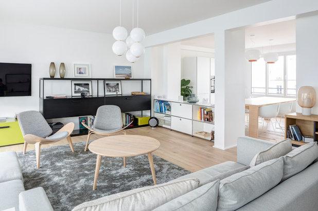 Scandinave Salon by Mon Concept Habitation   Paris, Lille, London