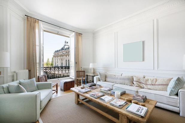 Eklektisch Wohnbereich by A+B KASHA Designs