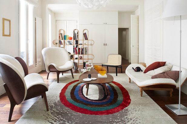 pariser eleganz ein wohnbereich mit schwung. Black Bedroom Furniture Sets. Home Design Ideas