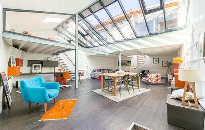 Visite Privée : Lumière et couleurs vives dans un loft familial
