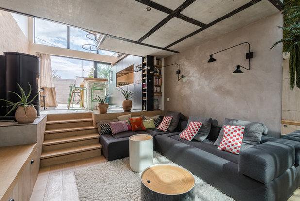 Contemporain Salon by Stanislas Ledoux