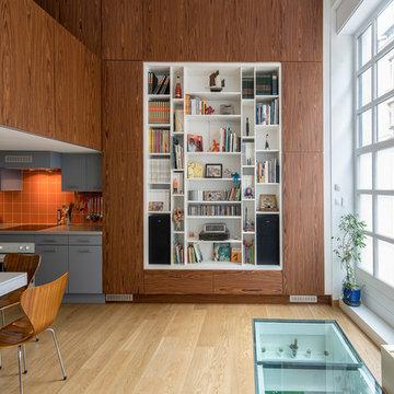 Loft - salon contemporain