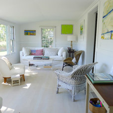 Eclectic Living Room by A+B KASHA Designs