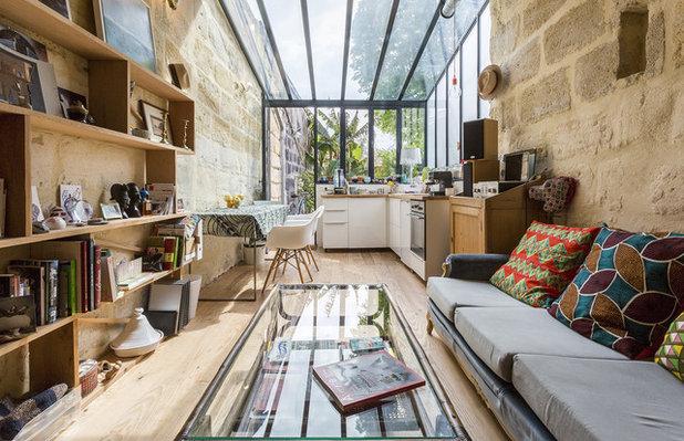 Éclectique Salon by OYAT Architectes