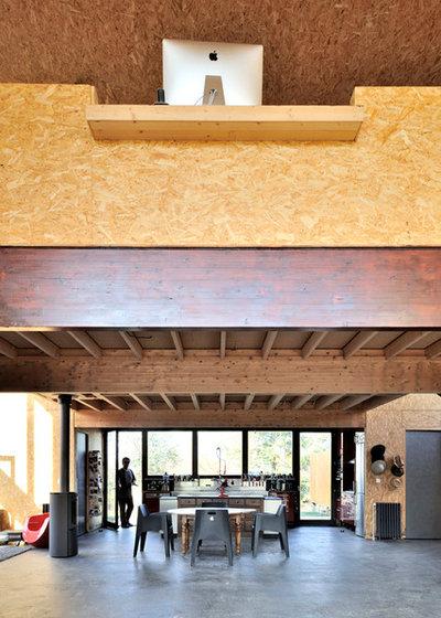 Industriel Salon by Fabien Perret et associés architecte
