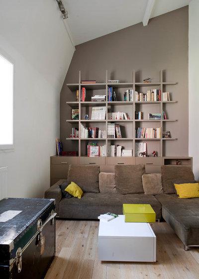 Contemporain Salon by Olivier Chabaud Architecte