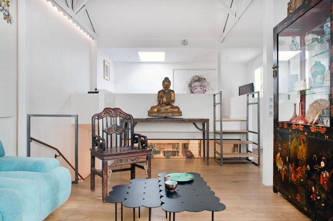 Ecléctico Salón by Olivier Chabaud Architecte