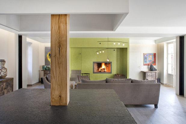 wohnraum mit k che asiatisch antik trifft franz sisch modern. Black Bedroom Furniture Sets. Home Design Ideas