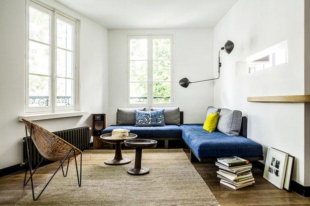 Contemporain Salon by diane de kergal