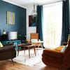 Suivez le Guide : Une maison seventies aux notes rétro colorées