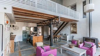 Maison style Industriel, architecte Emilie Dueso