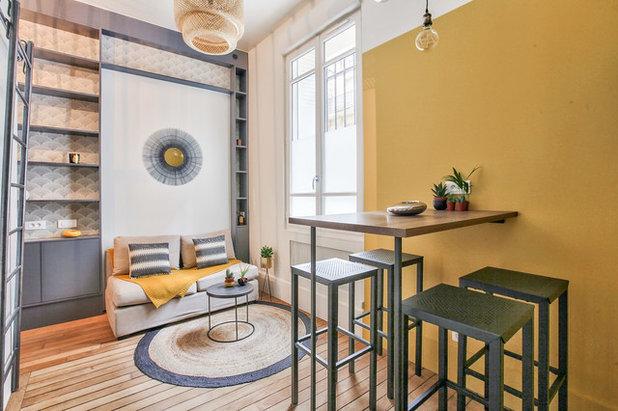 Industriel Salon by NEVA Architecture Intérieure - Interior Design