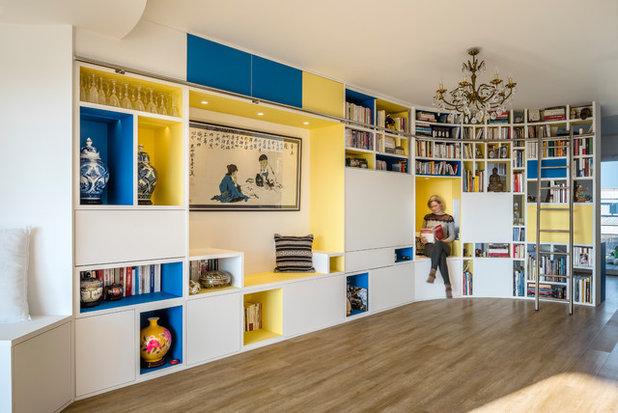 Asian Living Room by Atelier Nadège Nari