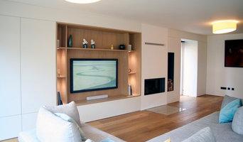 Meuble TV et rangements sur-mesure