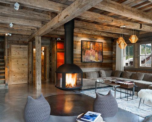 rustic living room  Interior Design Ideas