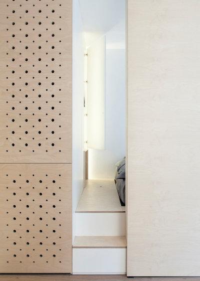 Skandinavisch Wohnbereich by atelier daaa