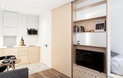 Avant/Après : Confort et design dans un 26 m² loin des siens