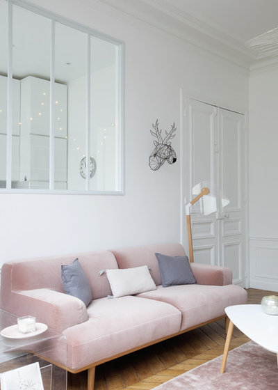 Contemporain Salon by Charlotte Fequet