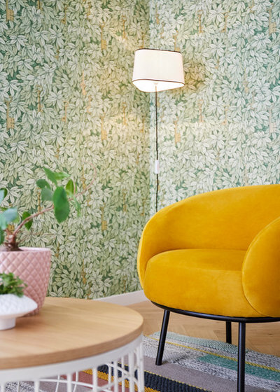 Eclectic Living Room by La Valise Rouge