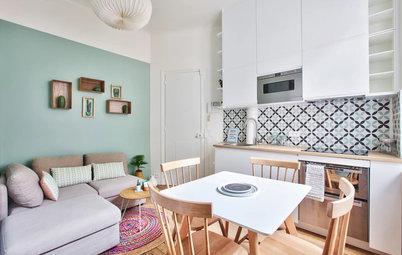 Mini-Wohnung in Paris: 20 Quadratmeter kommen ganz groß raus