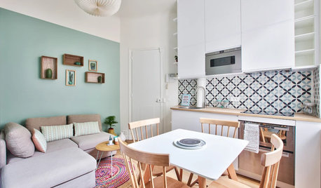 Houzz Tour: A 215-Sq-ft Flat Makes a Big Impact