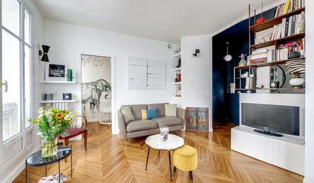 Avant/Après : Entre sobriété et éclectisme dans une pièce à vivre