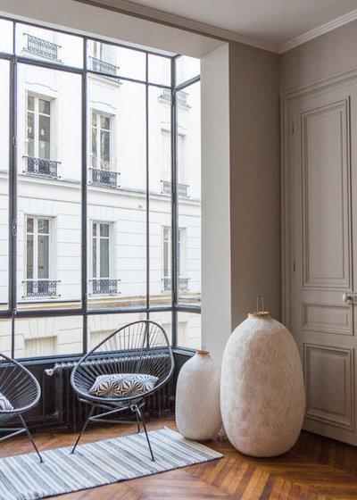 Contemporain Salon by Fanny Prat - Architecte d'intérieur
