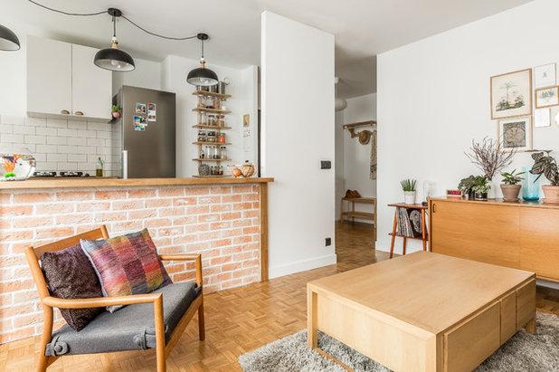 Scandinave Salon by CLAAAC - architecture intérieure et design