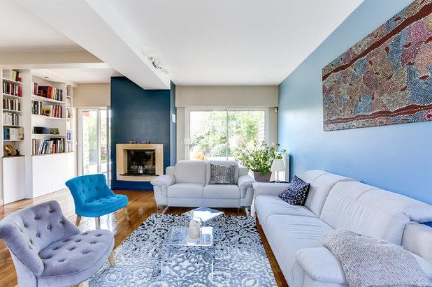 Contemporary Living Room By LOOKA DECO