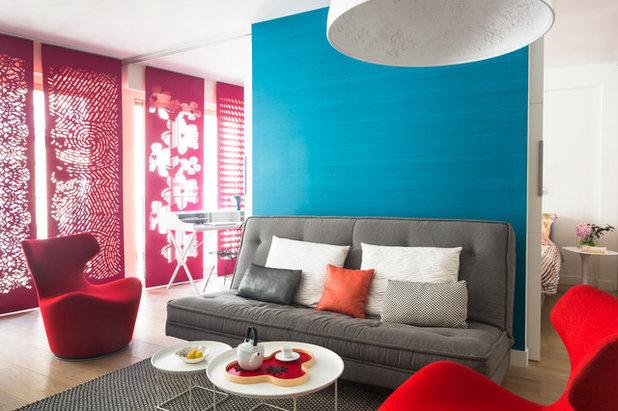 Contemporary Living Room by Dorner Design