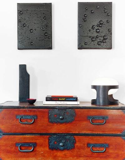 Contemporain Salon by THIERRY POUBEAU ARCHITECTE D'INTERIEUR