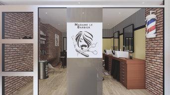 Projet 3d Barber Shop