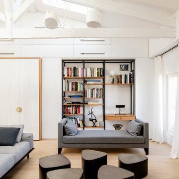 Projet de l'agencement dans un appartement de 80m² Paris VI